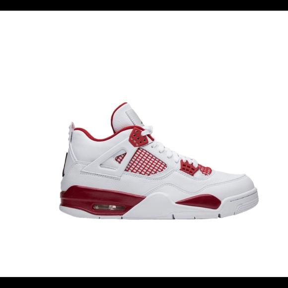 Jordan Shoes | Jordan Retro 4 Redwhite